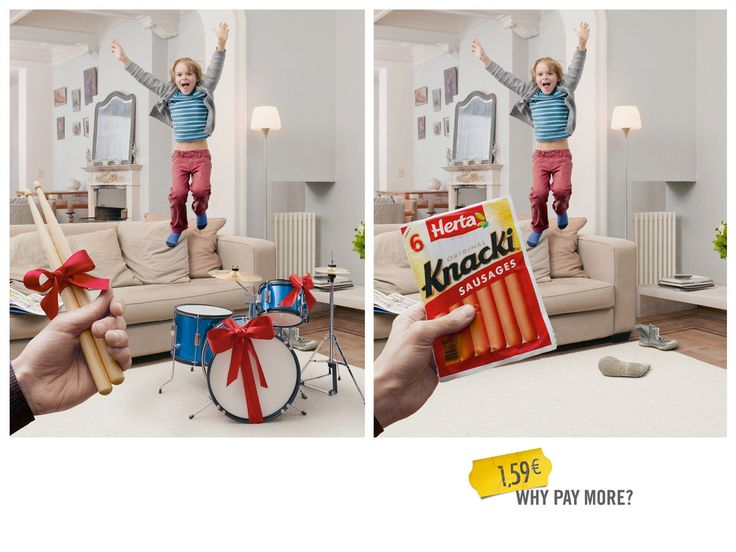 Sausages make an ideal gift - why pay more? | 13 Creative And Clever Adverts From 2013