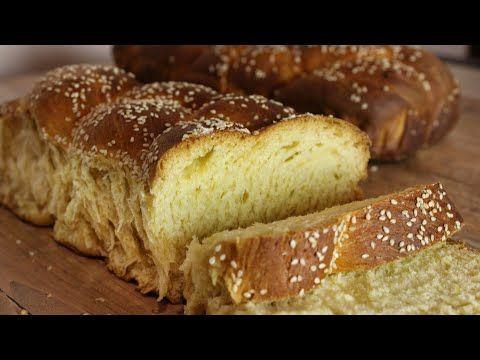 Τα πιο εύκολα & αφράτα Νηστίσιμα Τσουρέκια - The best Vegan Brioche in the World - YouTube