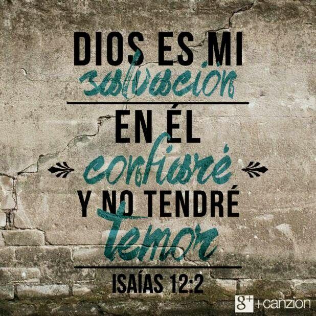 Al caminar con Cristo no tengo por qué temer.   «Miren, Dios ha venido a salvarme. Confiaré en él y no tendré temor. El Señor Dios es mi fuerza y mi canción; él me ha dado la victoria». –Isaías 12:2
