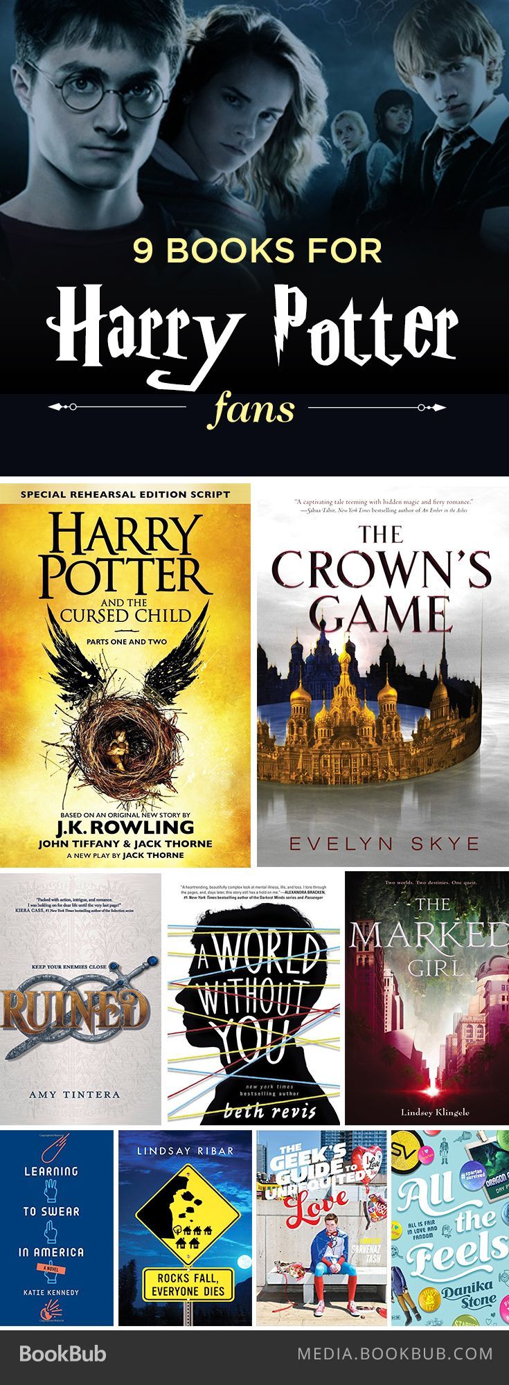 If You Love Harry Potter, Check Out These 9 Recommended Books