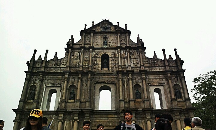 Ruins of st paul church, macau