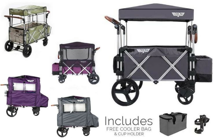 Keenz 7S Complete Stroller Wagon (Grey) | Rain Cover | Mosquito Protection | Wind Cover Bundle  #stroller #pushchair #parents #supremestroller #baby #pram