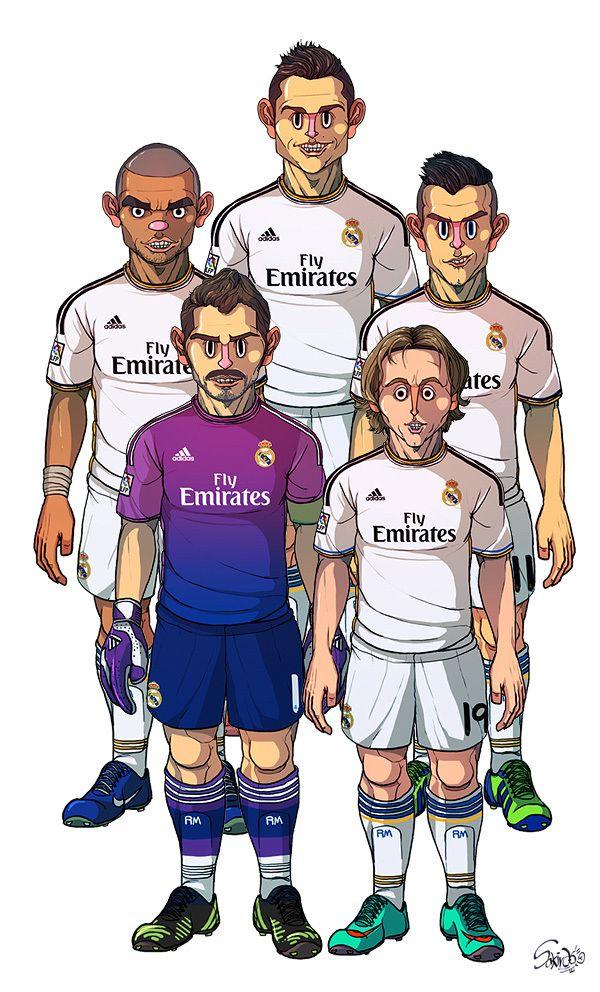 FC Barcelona / Real Madrid by Sakiroo Choi, via Behance