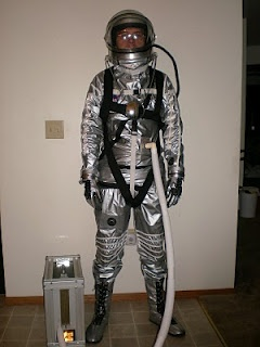 Mercury Space Suit - all hand made as close to the original as possible.