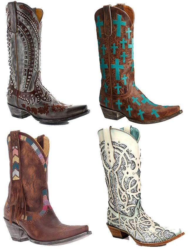 Bold Pairs Of Cowboy Boots For Summer