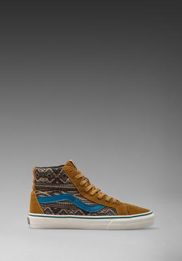 Vans California Sk8-Hi Reissue in Bronze Brown
