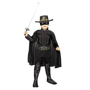 Zorro Erkek Çocuk Kostüm Lüks 8-10 Yaş, zorro kostüm