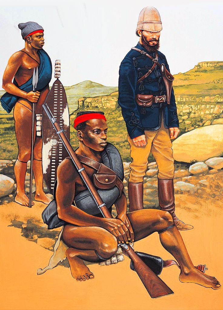 Natal native contingent troops, Zulu War