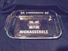 U of M Kickasserole  Shipped For FREE by IslandGraphics on Etsy