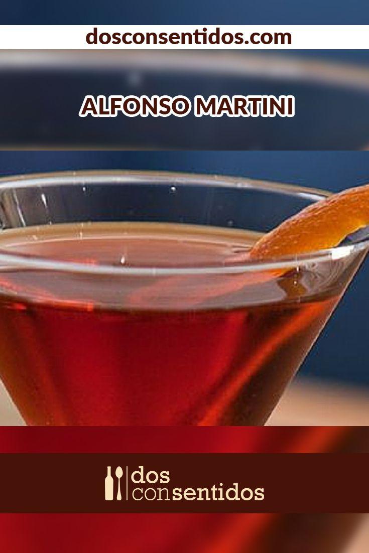 EL Alfonso Martini es un cóctel seco y livianamente dulce. Su color rojo y sabor dulce se debe a la adición de Grand Marnier, un licor hecho a partir de una mezcla de distintos tipos de brandy y naranjas amargas. También hacen parte de este rico y con clase cóctel, el ginebra, Martini extra Dry, y el Martini Rosso, terminado con una gotas amarga de Angostura y agua helada.