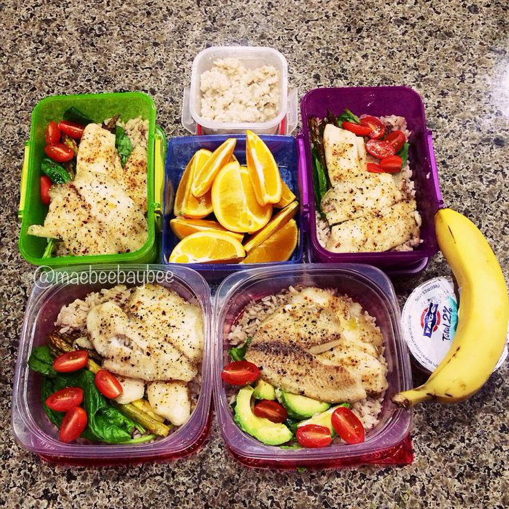 Another meal prepped for today! Happy Monday! @maebeebaybee