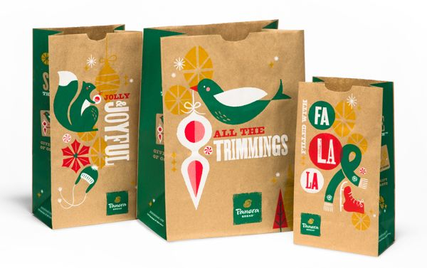 Panera Holiday 2013 on Behance