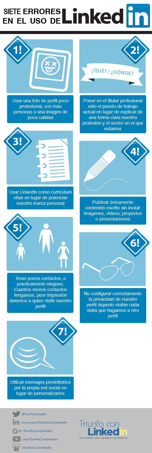 91 best Consejos LinkedIn images on Pinterest   Conseguir, Algun y ...
