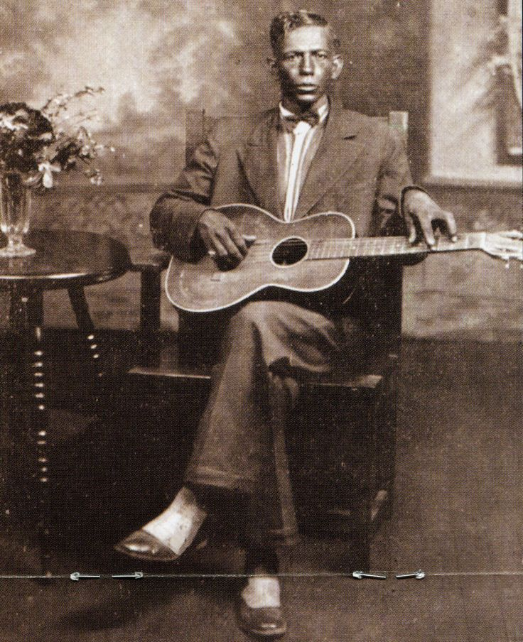 "Father of the Blues, Charlie Patton (1891-1934), also known as ""Charley."" Patton…"