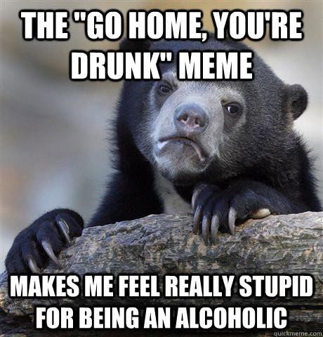 Conclusion for my descriptive essay on a drunk moron?