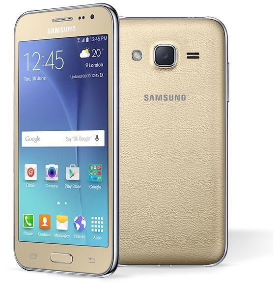 Samsung Galaxy J2 - 8GB, 1GB RAM, 4G LTE, Gold   rupom   New