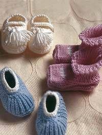 Strickanleitungen: Süße Baby-Sachen zum Stricken