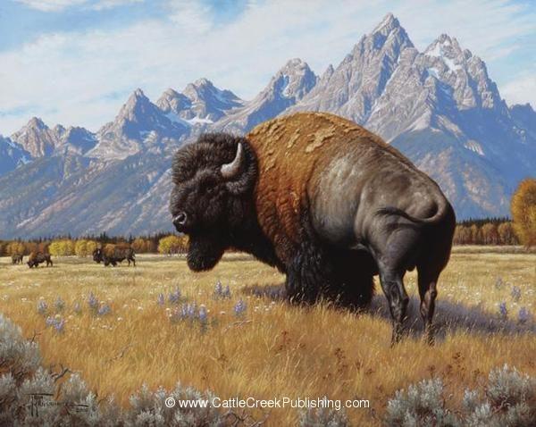"""Spirit of the West"" -mansanarez Wildlife Art by Tom Mansanarez, limited edition prints featuring elk, deer, antelope, moose, cats, cougar, mountain lion, hounds, horses, and bobcats. - Limited Edition Prints"