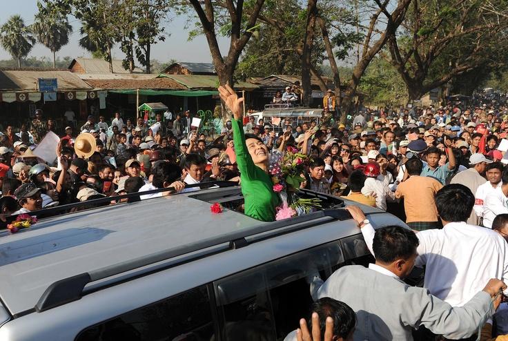 Freedom for Aung San Suu Kyi - finally