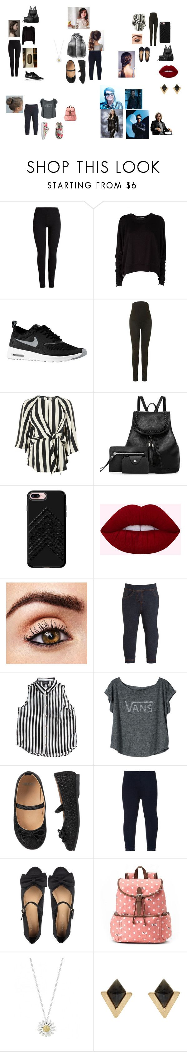 """Charles PT.7"" by lauren-371 ❤ liked on Polyvore featuring T By Alexander Wang, NIKE, Topshop, Rebecca Minkoff, Monsoon, Bardot Junior, Vans, Marais USA, Candie's and Daisy Jewellery"