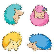 Happy Hedgehogs Cut-outs Carson-Dellosa Publishing Company, Inc. (Corporate Auth