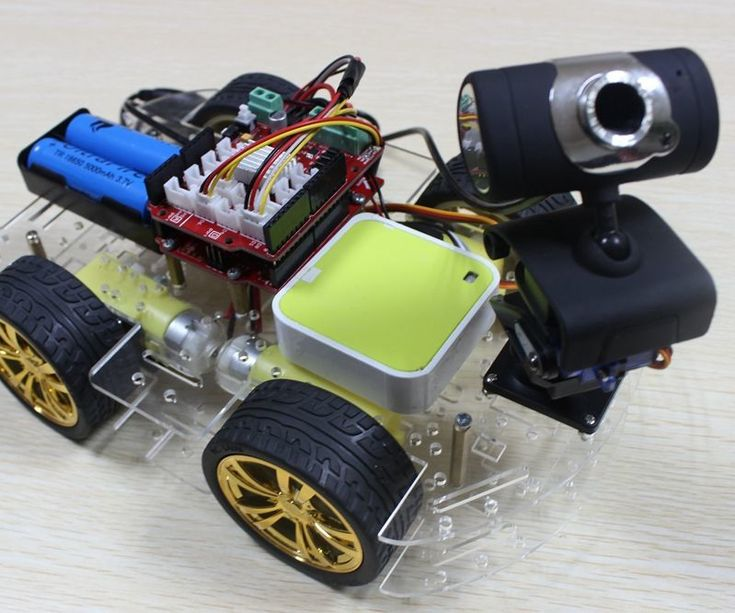 Smart WIFI Video Car( Arduino control )                                                                                                                                                      More