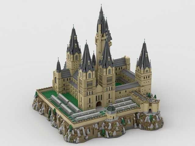<b>Hogwarts</b> Extended MOC | Lego | Лего здание, Лего и Здания