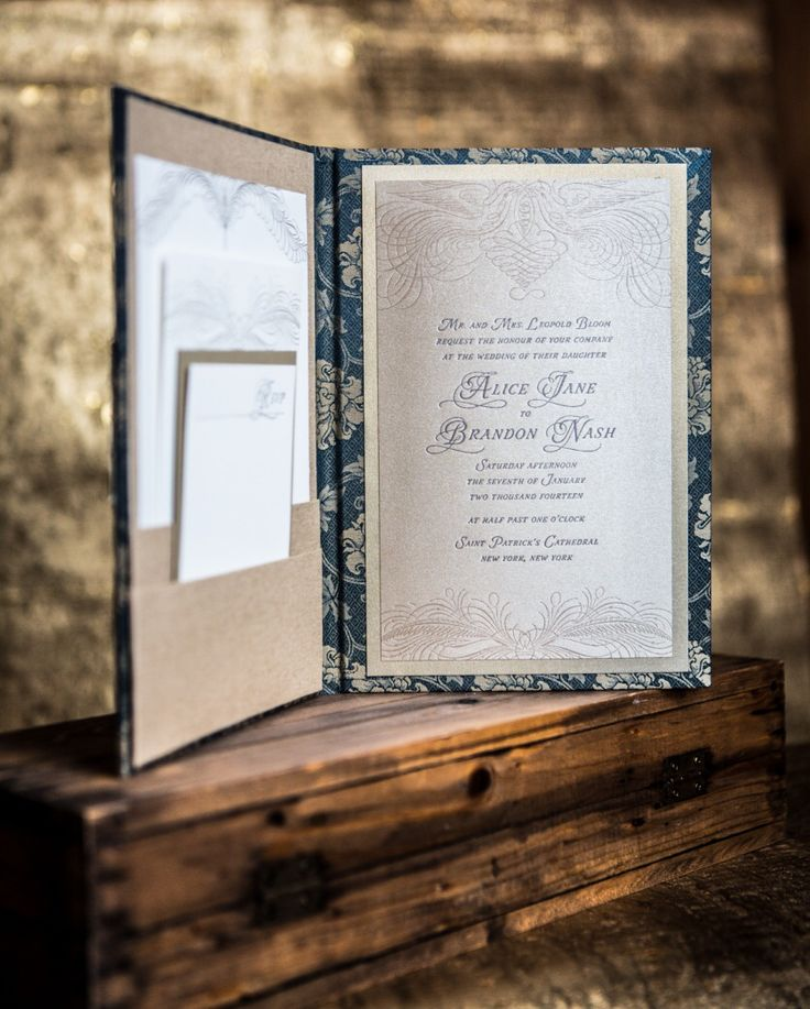 in wedding invitations is the man s name first%0A The Scarlet Letter proudly carries this gorgeous invite by twig and fig