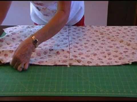 pillowcase tutorial. she's good :)