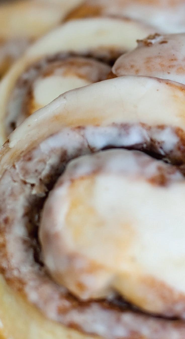 Cinnamon Rolls from Alma Bakery
