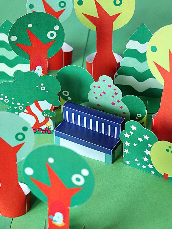 DIY: free printable park