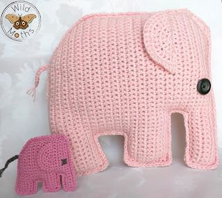Wildmoths Handcrafted Creations: Pink Elephant