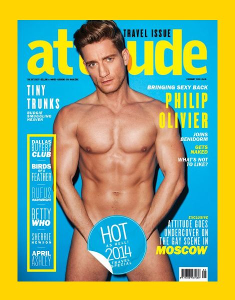 Gay magazine called attitude