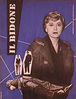 Posteritati: BIDONE, IL (Swindle, The) 1955 French Program (9x12)