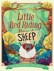 LITTLE RED RIDING SHEEP by Linda Lodding