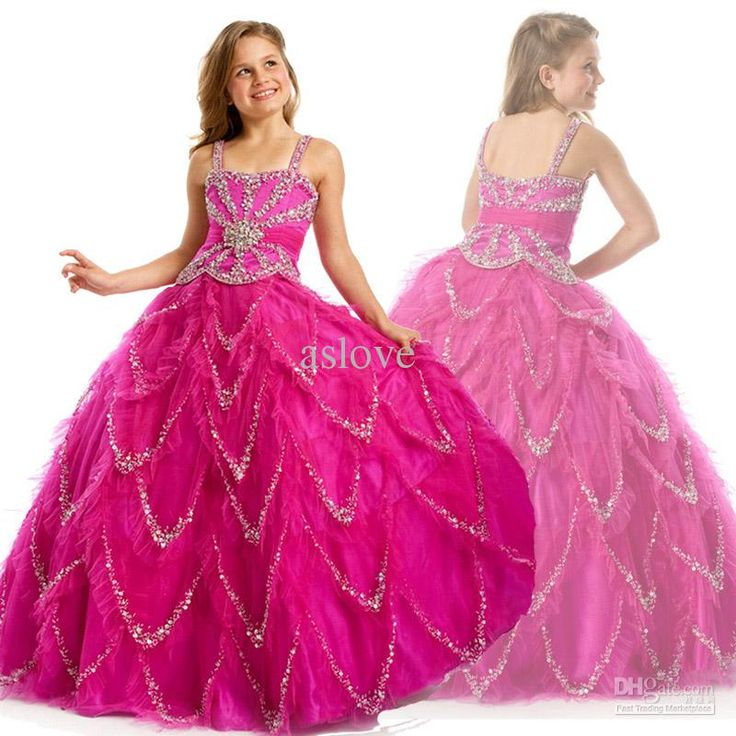 17 Best Images About Pageant Dresses For Girls On