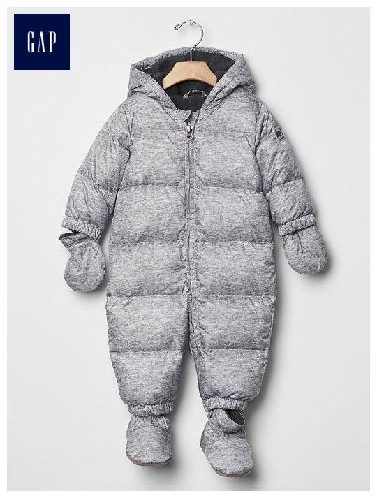 Warmest down snowsuit