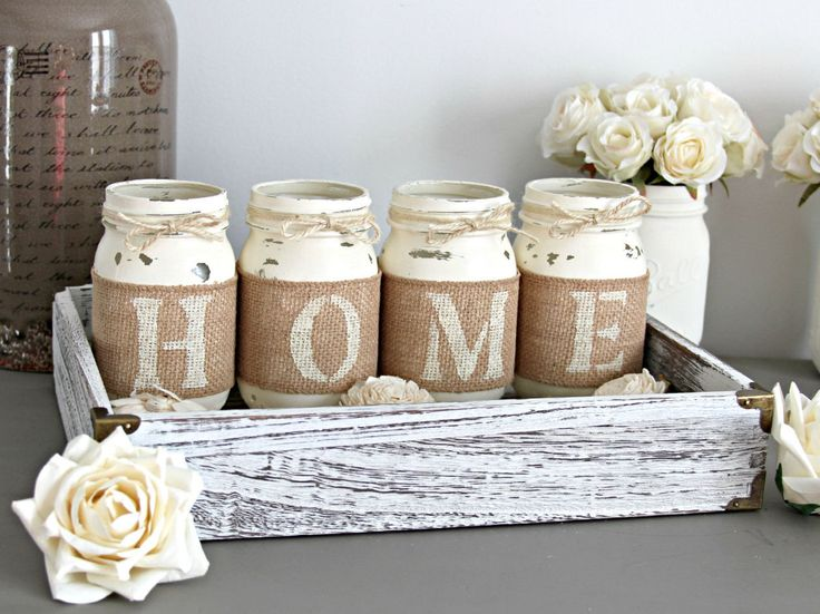 Rústico casa decoración regalo de inauguración por LoveLiveNCreate