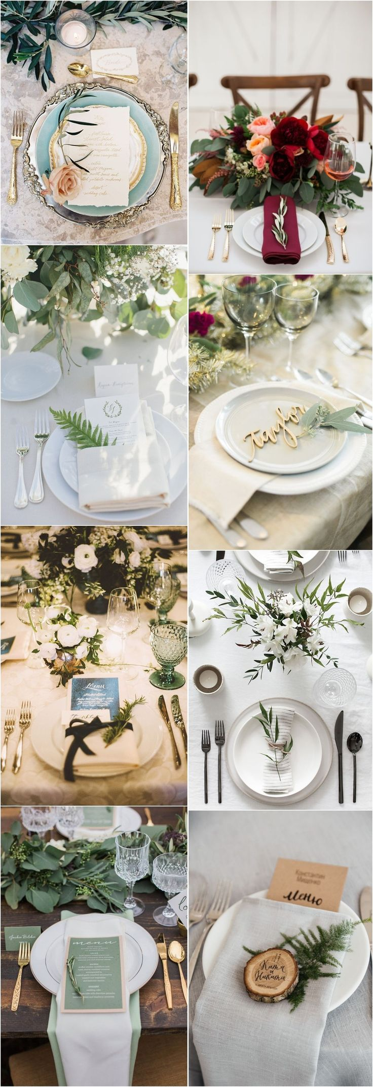Best 25 place setting ideas on pinterest place settings for Wedding place settings ideas