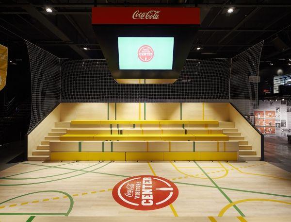 Creneau International - Coca-Cola Enterprises, Visitors Center, Belgium