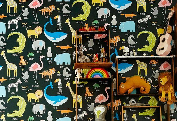 My favorite Animals | Tapeten der 70er
