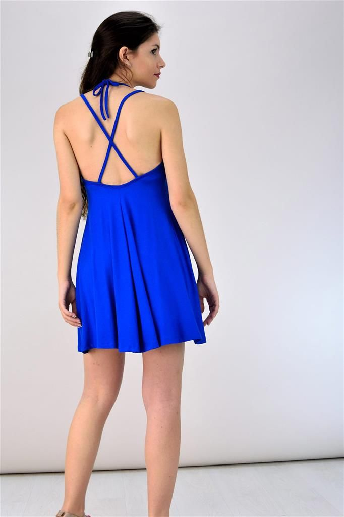 Potre – Μίνι φόρεμα με χιαστί