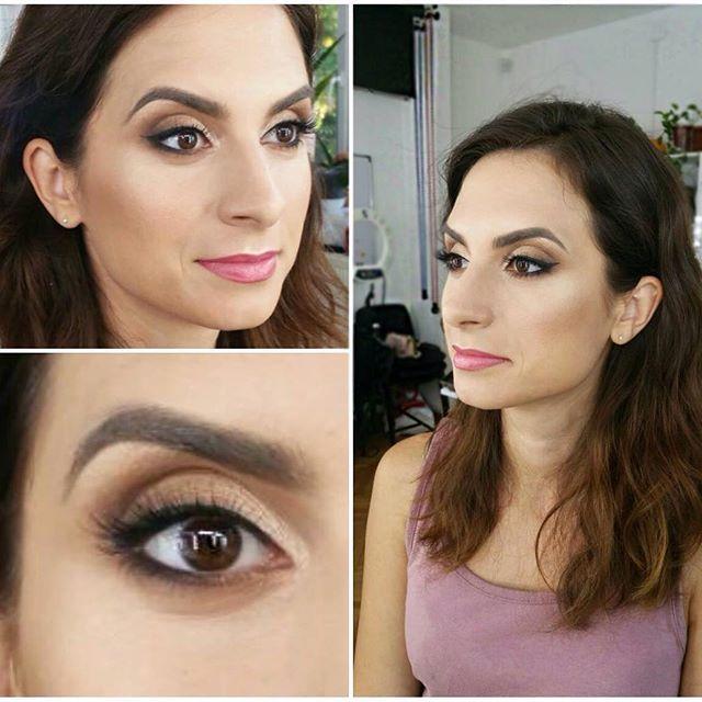 Love this make-up! 💜 Natural & discrete make-up #lovemyjob #naturalmakeup #atelierparis #lectiidemachiaj #makeupartist #makeup #mua #sunday #sundayfunday #instamakeup #eyeliner #eyeshadow #lips #lipstick #eyebrows #eyebrowsonfleek #nude #instadaily #instalike #instagood #picoftheday #followme