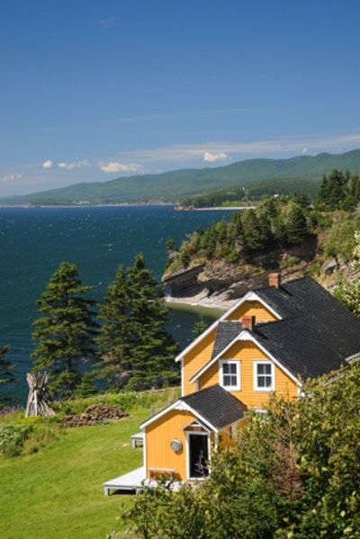 Cottage in Gaspe, Quebec