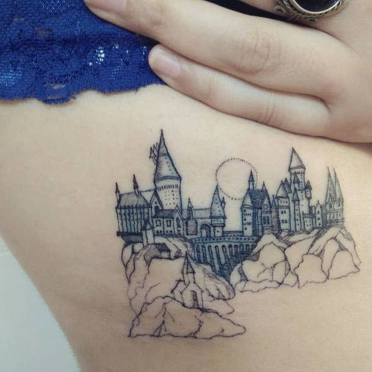 Tatouage Harry Potter Poudlard