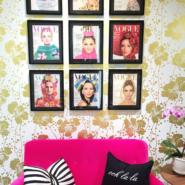 A Vintage Vogue Gallery Wall
