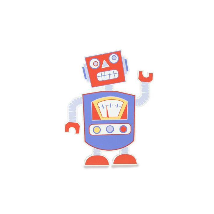 Robot Rod Wall Plaque - Metro Kids for sale by Little Shop of Treasures. Other Metro Kids available now at LSOT.