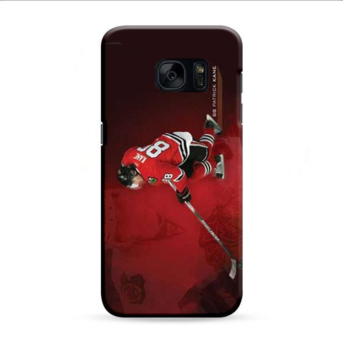 Patrick Kane Red Wallpaper Samsung Galaxy S7 Edge 3D Case
