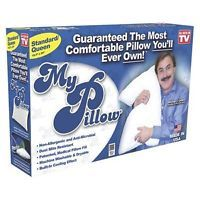NEW My Pillow As Seen On TV Standard Queen Size Bed Pillow, FAST FREE SHIPPING
