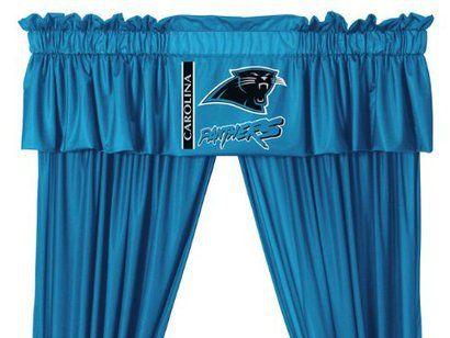 Carolina Panthers Valance